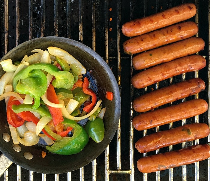 Johnsonville Sausage Beach Party Grill