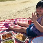 At the Beach with Johnsonville Brats this Fourth of July