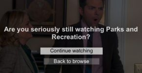 Netflix Park and Rec