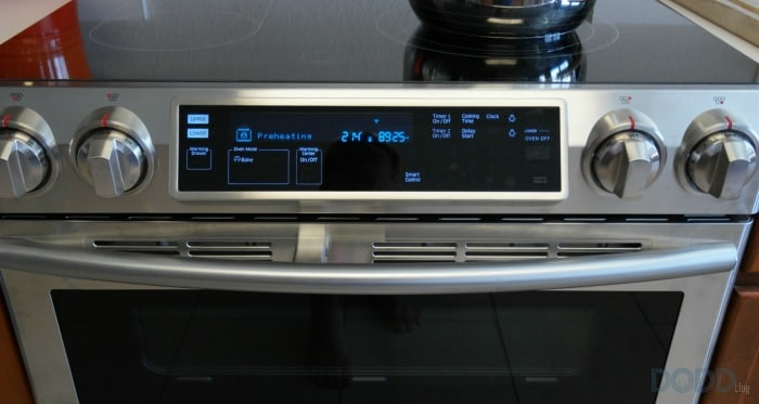 Samsung Flex Duo Slide-In Electric Range