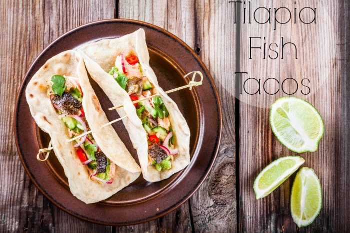 These are Some of the Best Grilled Tilapia Fish Tacos EVER