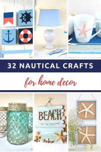 I Found 32 Different Nautical Crafts For Home Decor