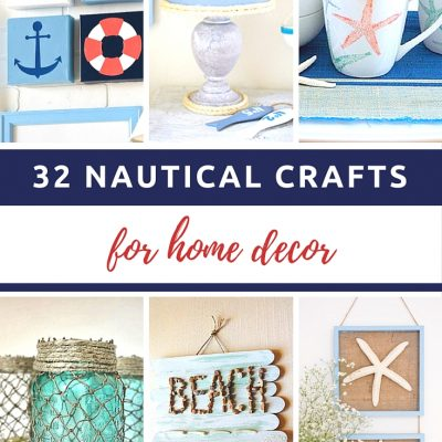 32 Different Nautical Crafts For Home Decor