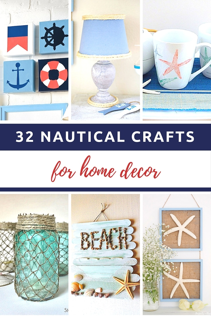 32 Nautical Crafts For Home Decor Pinterest v2