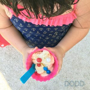 Celebrating National Ice Cream Day with Homemade Ice Cream in a Bag