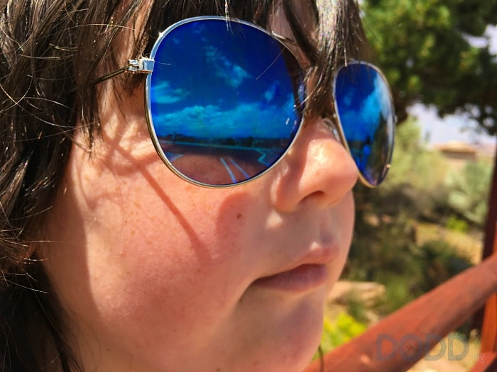 Joeli in her cool glasses