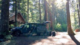 Kia Sedona Oregon Cabin