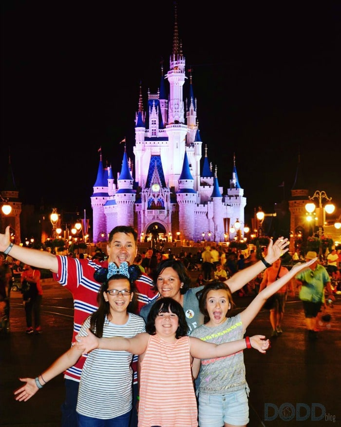 Us at Disney World