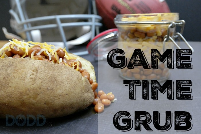 Tailgating and Game Day with a Loaded Baked Potato and Mac N' Cheese