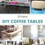 Interesting DIY Coffee Tables That are Worth Checking Out