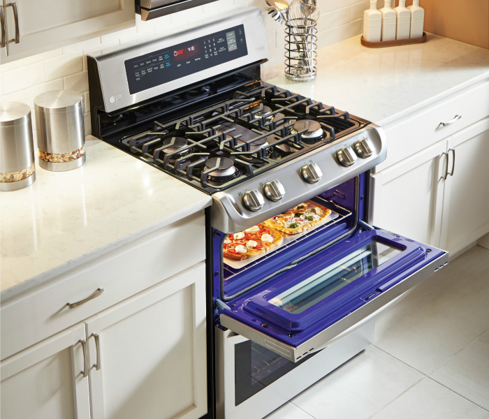 LG ProBake Double Oven