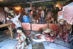 Fremont Street Experience gets Haunted for Fremont Fright Fest