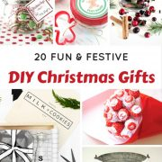 20 Fun and Festive DIY Christmas Gifts