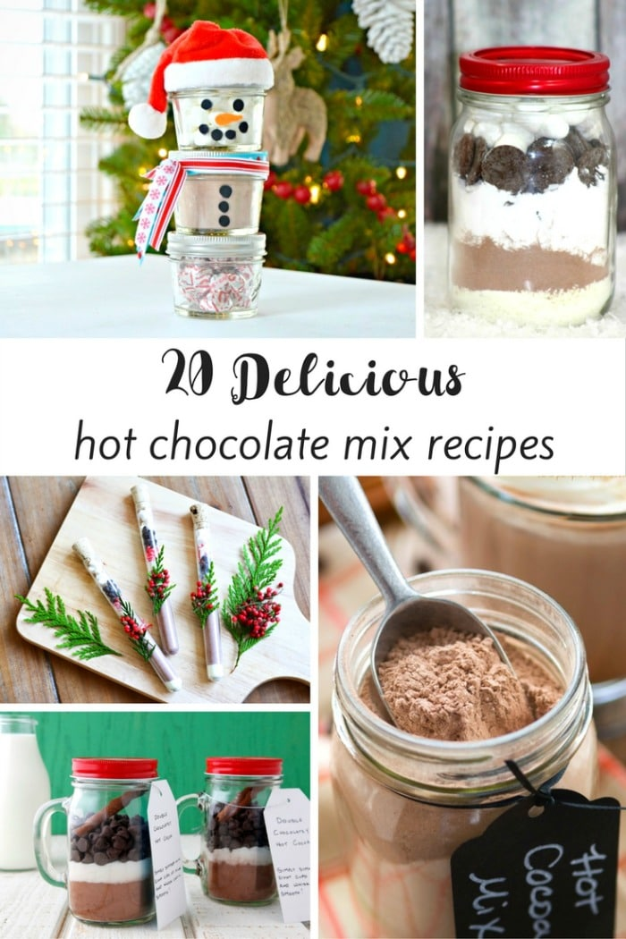 Stay Warm this Winter with These Delicious Hot Chocolate Mix Recipes