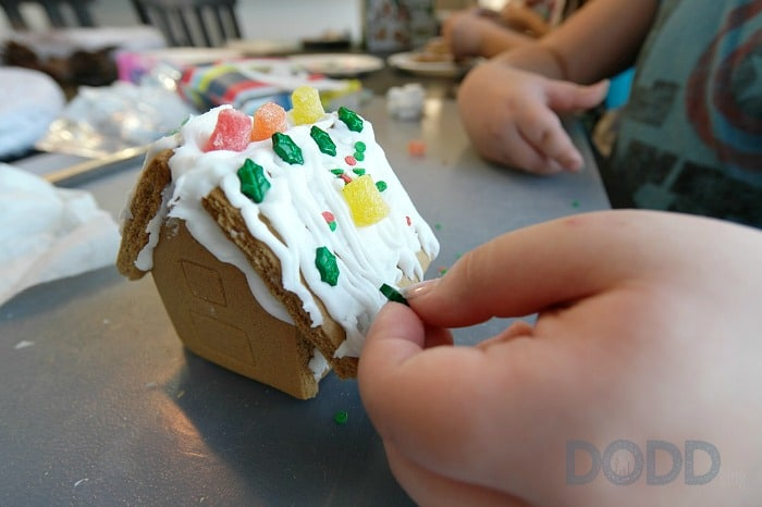 Huggies Mess Gingerbread House