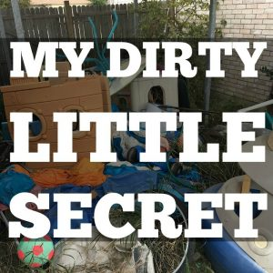 A Dirty Little Secret So Gross I Couldn't Stand it Anymore.