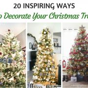 20 inspiring Ways to Decorate Your Christmas Tree