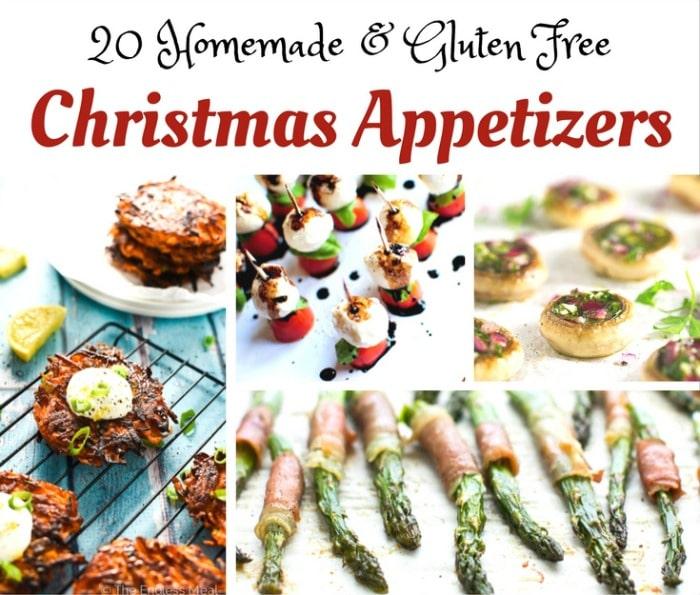 Gluten Free Christmas Appetizer Ideas