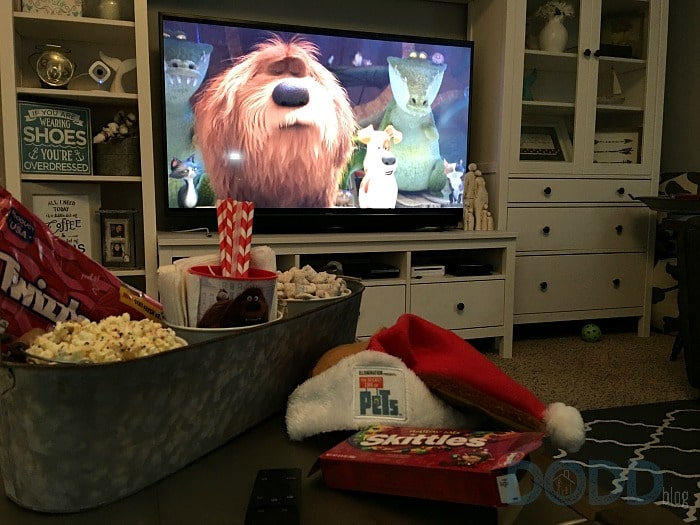 Movie Time The Secret life of Pets