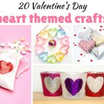 20 Valentine's Day Heart Crafts