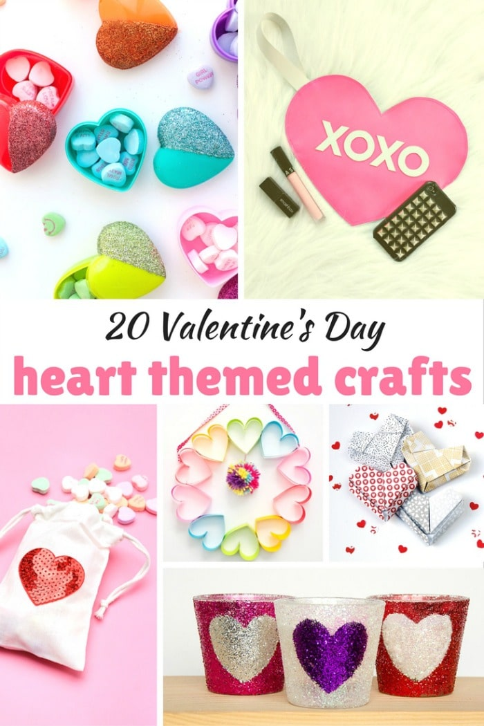 20 Valentine's Day Heart Crafts