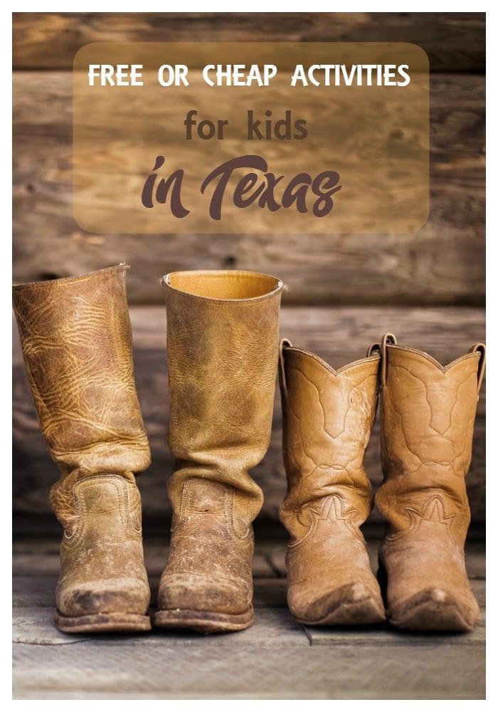 Activities for Kids in Texas