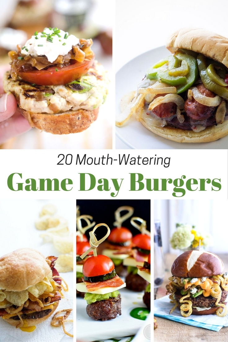 Game Day Burgers