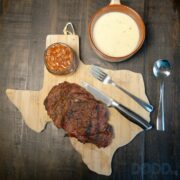 Idahoan Potato Soup and Steak