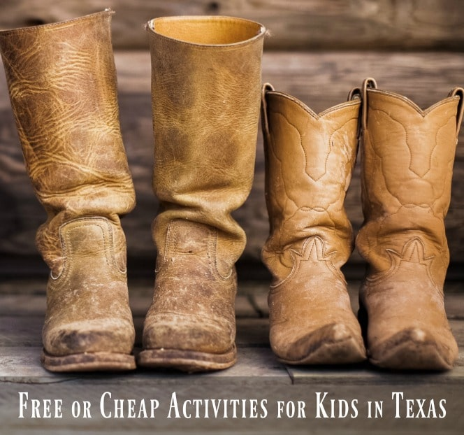 Free or Cheap Activities for Kids in Texas