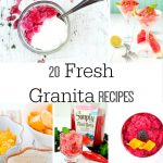 20 Fresh and Fun Granita Recipes for the Whole Family