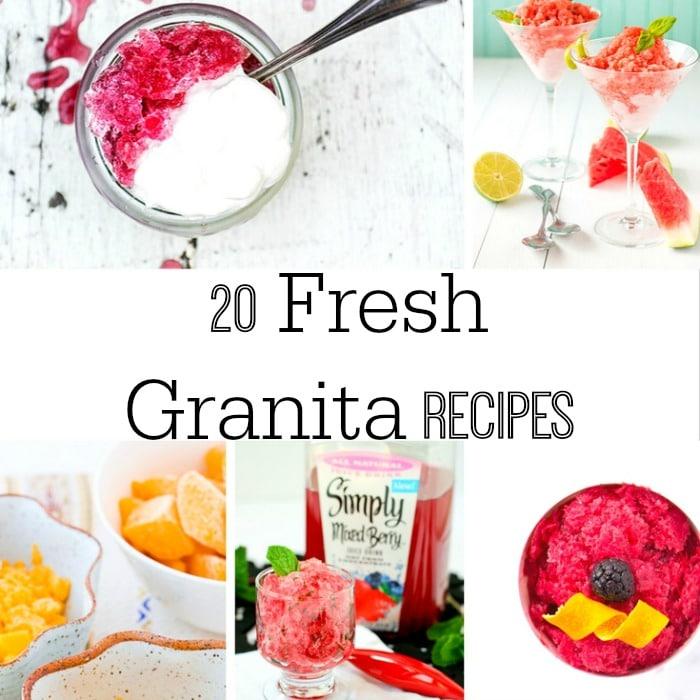 Granita recipes