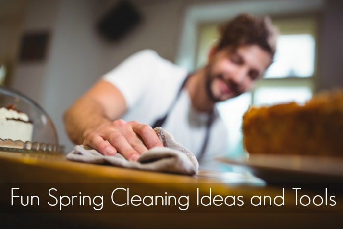 Fun Spring Cleaning Ideas and Tools