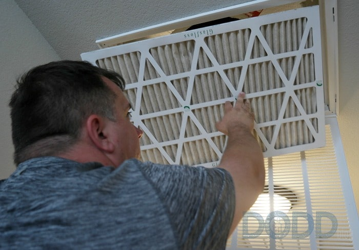 check air filter Do It Yourself Monthly Maintenance Plan