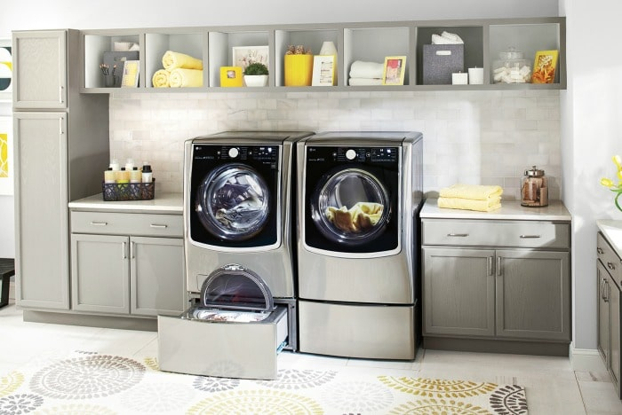 Get More Laundry Done with the LG Front Load Laundry System