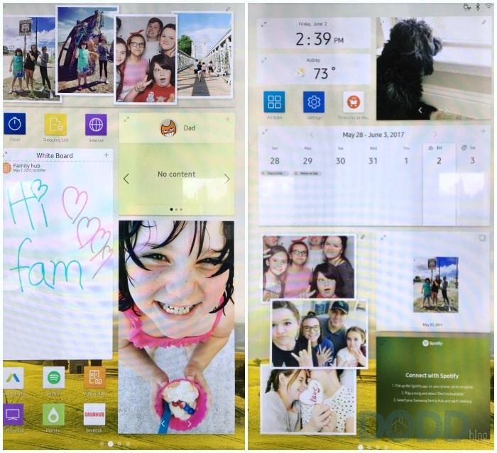 Samsung Hub 2 Display