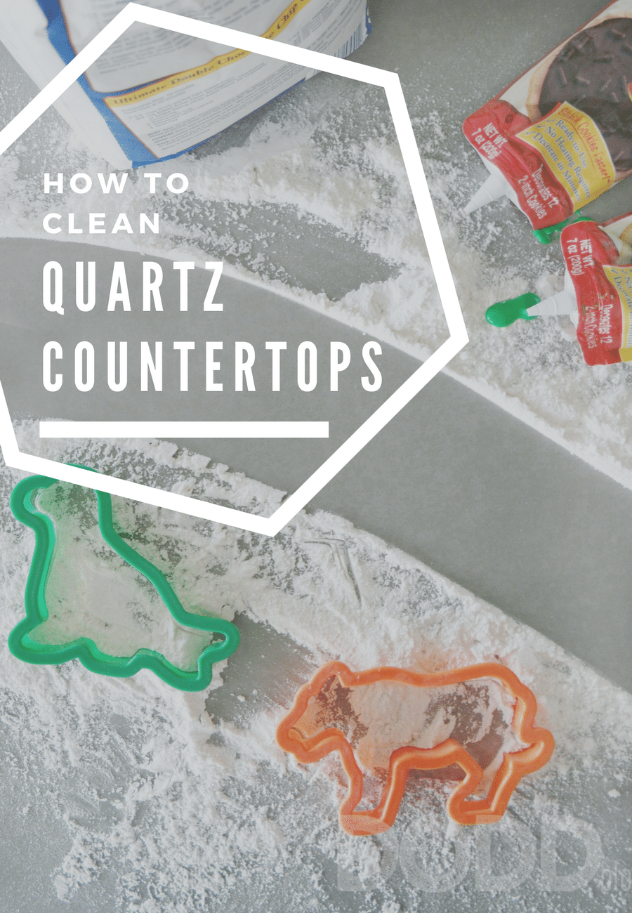 How to clean quartz countertops for Best way to clean slabs