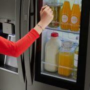 Knock Knock. Who is There! Your Refrigerator : LG InstaView Door in Door