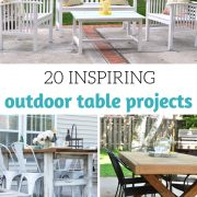 Outdoor Table Projects