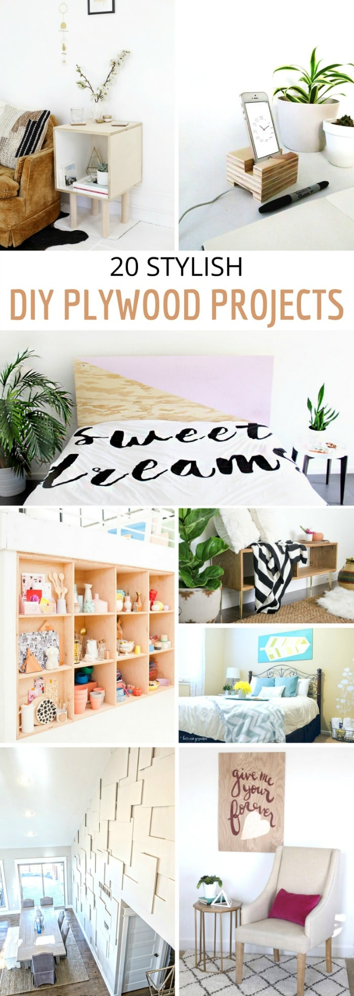 20 Stylish DIY Plywood Projects