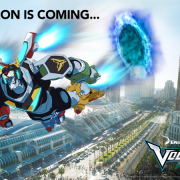 Voltron Legendary Defender to San Diego Comic-Con
