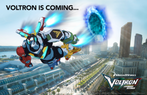 Voltron Legendary Defender to San Diego Comic-Con 2017