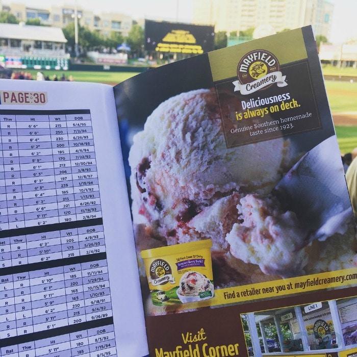 Baseball and Mayfield Creamery Ice Cream Really HITS the Spot