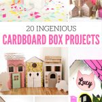 Keep the Kids Busy: 20 Ingenious Cardboard Box Projects