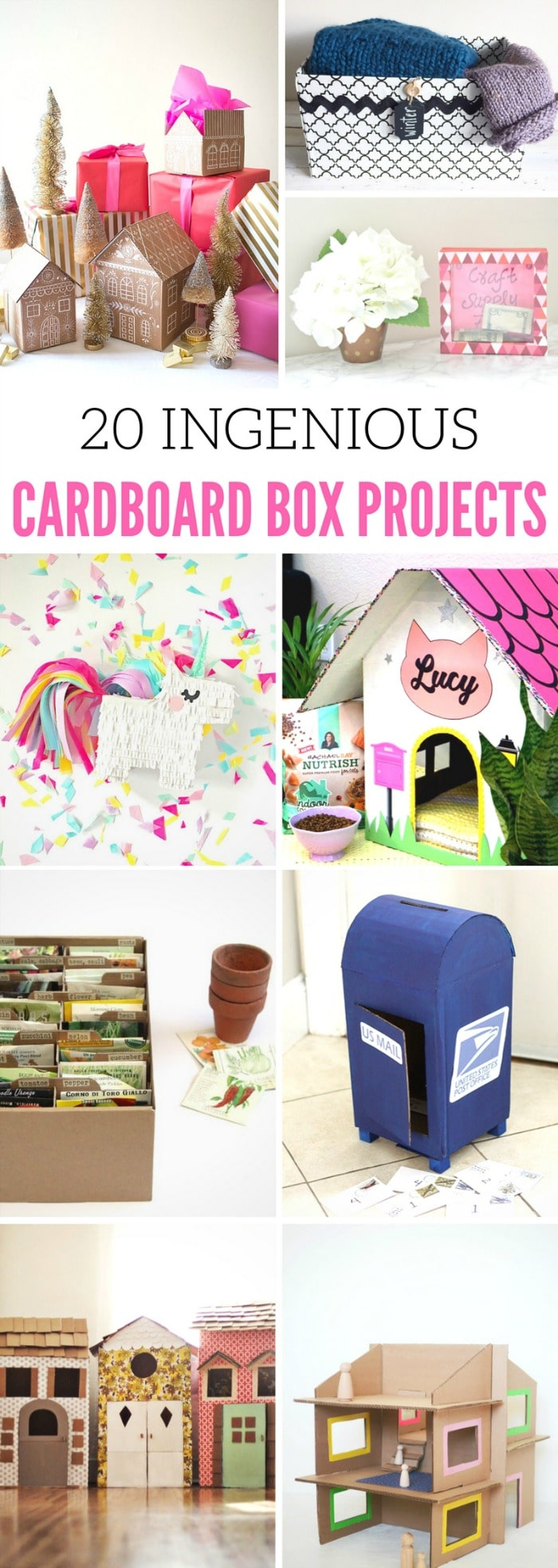 Cardboard Box Projects