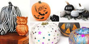 Take Your Spooky Decorations to the Next Level – 20 Decorative Halloween Painted Pumpkins