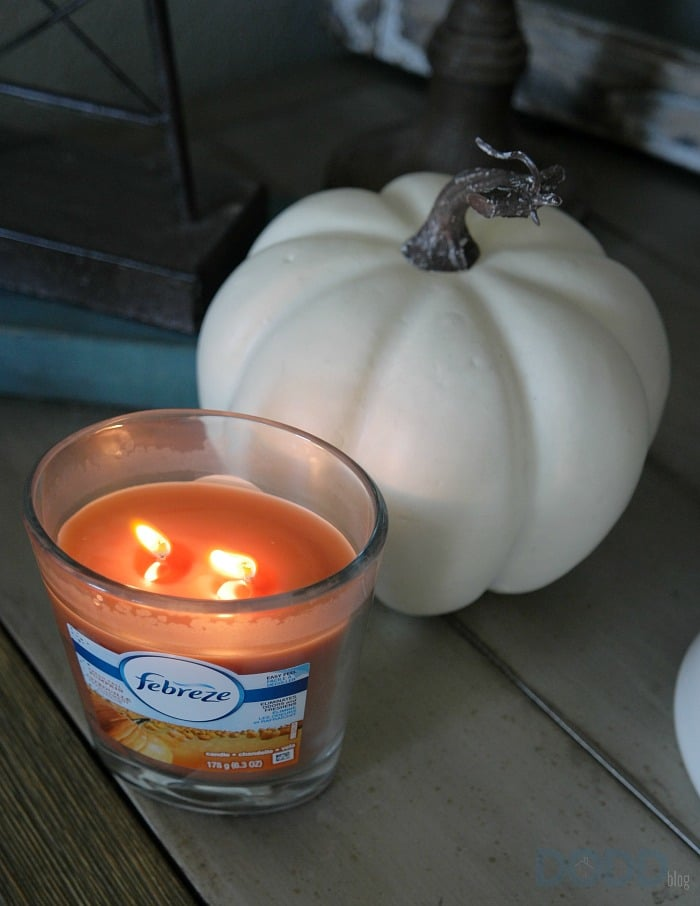 Fresh Fall Pumpkin Febreze Candle