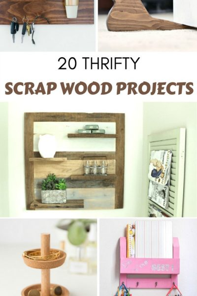Old Scrap Wood DIY Project