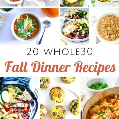 Take the Challenge this Fall with these Whole30 Fall Dinner Recipes