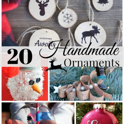 20 Easy Homemade Christmas Ornaments Ideas