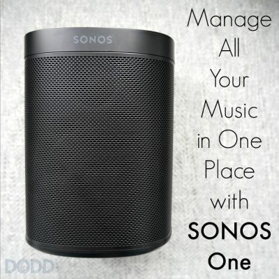 Manage All Your Music in One Place with Sonos One